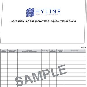 inspection log 3rcny505
