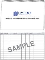 inspection log 3rcny505